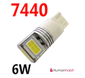 T20 COB 6W Super bright 9-30V