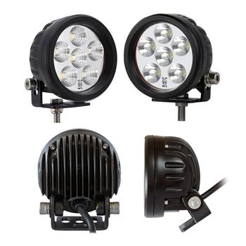 18W CREE LED special belysning framtagen för dimma, snörök, kristall snö 9-32V, 4300K, E-märkt