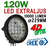 120W CREE XT-E LED extraljus diameter 229mm
