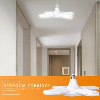80W led lampa vinklingsbar kraftfull 8000 lumen för lampsockel E27
