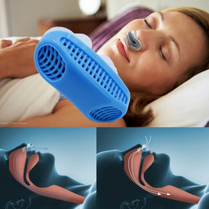 Nose Air Purifier Clip Breathing Apparatus Anti Relieve Snoring Device