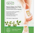 Aliver 100% Natural and Vegan Friendly Detox Foot Pads
