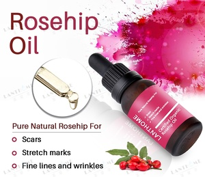 Pure Organic Rosehip Oil for Scars -  Fine Lines - Wrinkles  - Stretch Marks
