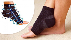 7-POINT FOOT ANGEL COMPRESSION SLEEVE