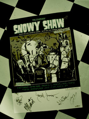SNOWY SHAW - POSTER