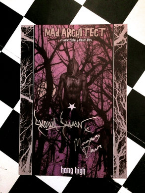 "MAD ARCHITECT POSTER "" HANG HIGH"""