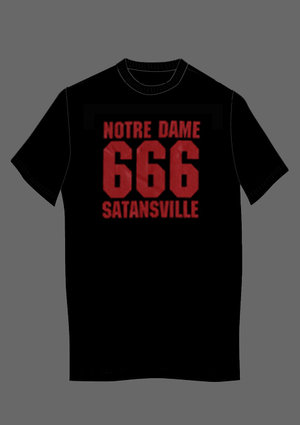 NOTRE DAME - 666 SATANSVILLE