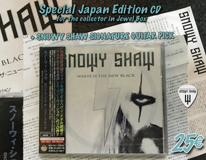 WHITE IS THE NEW BLACK: JAPAN EDITION CD OFFER ( collectors item)