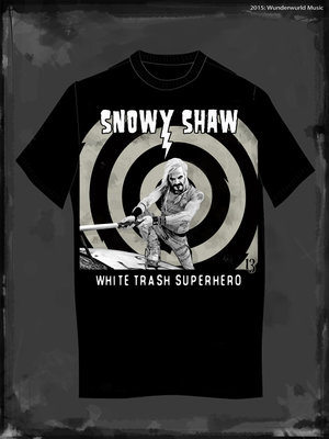 SNOWY - WHITE TRASH SUPERHERO