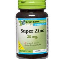 Great Eart Super Zinc 100 tab