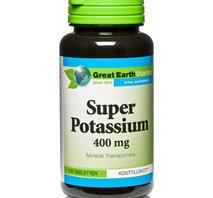 Great Earth Super Potassium 100 tab