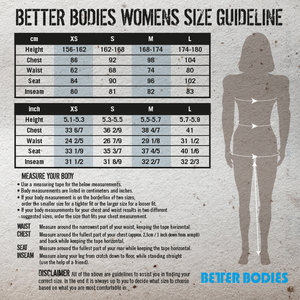 Better Bodies High Line Short Top