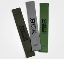 Better Bodies Resistance Mini Band, 3-Pack