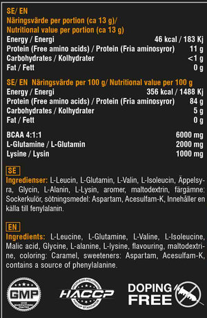 Swedish Supplement BCAA Engine 4:1:1 400 g