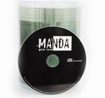 CD painatuksella bulkkipakkauksessa