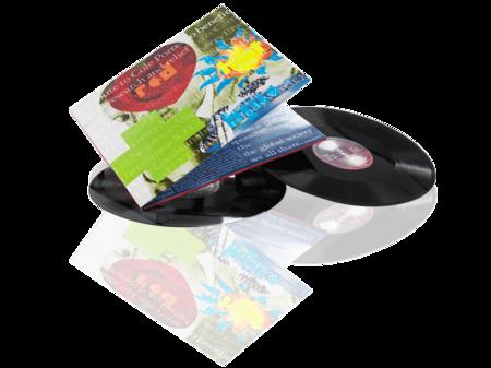 Presset Vinyl 12 tum Gatefold omslag i 4 fargetrykk