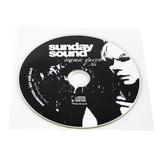 CD med tryck i plastficka