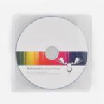 CD med tryck i PP CD Case