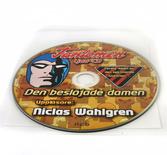 CD + plastficka (självhäftande baksida)