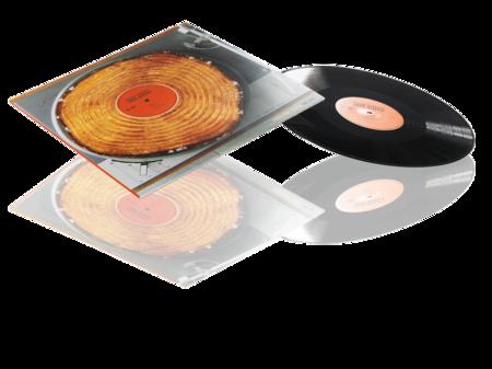Pressed Vinyl 12 tum Standard envelope in 4-color print