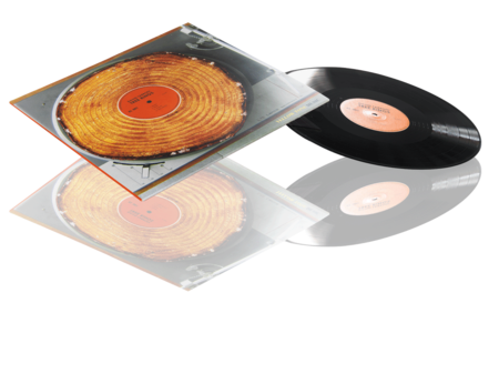 Presset Vinyl 12 tum Standard konvolutt i 4 fargetrykk