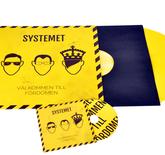 Combo Vinyl 12 tum Standardi kirjekuori 4 värin painatus - 100 kpl ylöspäin