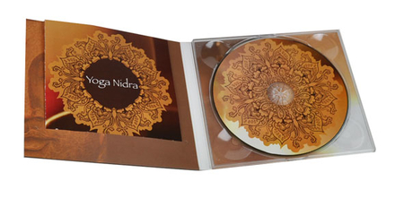 DVD with print in 4-sided Digipak