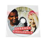 DVD + plastficka (självhäftande baksida)