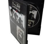 CD med tryk i DVD-box (14 mm ryg) med trykte indlæg