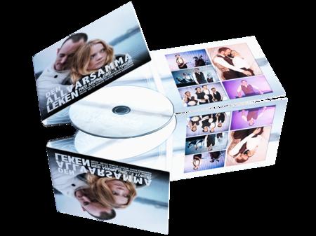 CD med tryk i 6-sidet Digipak