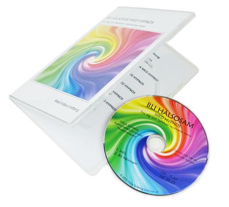 CD + DVD slimbox (7mm rygg, inkl inlaga)
