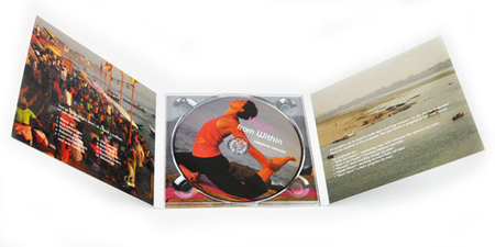 DVD with print in 6-sided Digipak