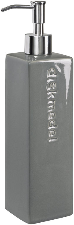 Cult Design - Kub diskmedelspump (stålgrå)