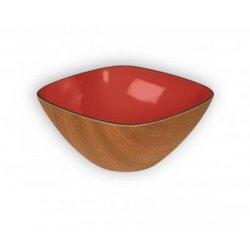Robex - Fyrkantig skål (Röd)