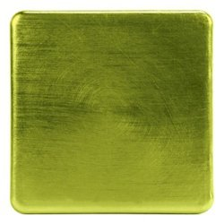 LOB Design - Square glasunderlägg 4-pack (Lime)