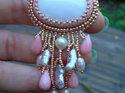 Mönster på pärlat hänge av Olga (Advanced Bezel). (skickas per e-post)