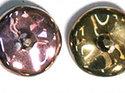 Ripple™ beads, California Pink. 20-pack