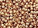 TOHO seedbead 15/0, Galvanized Rose Gold Permafinish. 5 gram.