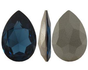 Pear Flat Fancy Stone, 30*20 mm. Montana.