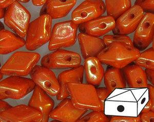 DiamonDuo™ Coral Luster, 93400/15495. 5*8 mm. 40 stycken.