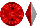 Swarowski Rivoli 14 mm, Light Siam.