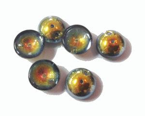 Piggy bead regnbågsmetallic. 20-pack
