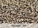 Matubo 7/0, Jet Gold. 10 gram.