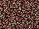 Rulla beads, Red Picasso, 93200/43400. 10 gram