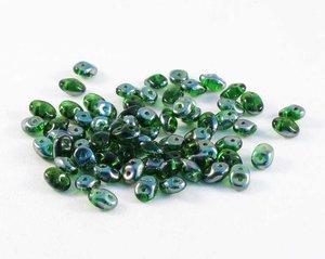 Superduo Chrysolite Celsian, 10 gram