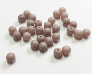 Runda druks, Saturated Mushroom, 4 mm. 30 st