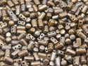 Rulla beads,  Bronze Grey Satin, 00030/01670. 10 gram