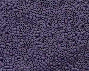 Delica 11/0, Opaque Lavender Matted, DB 0799. 5 gram.