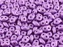 Superduo® Metallic Mat Violet, 02010/29423. 10 gram per påse.