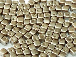 CrissCross Cube, Pastel Light Brown, 25005. 30-pack.